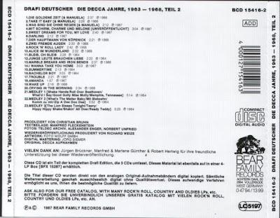 Drafi Deutscher - Die Decca Jahre 1963-1968