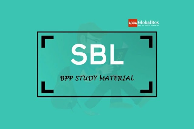 SBL - BPP | STUDY TEXT and EXAM KIT