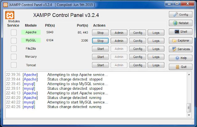 install xampp8