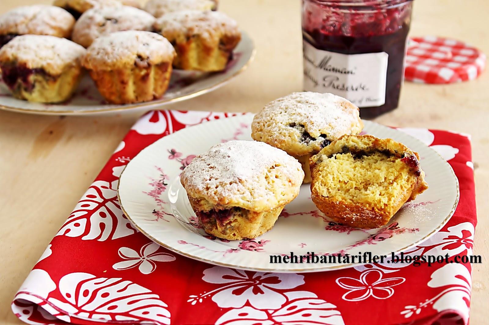 Reçelli Muffin
