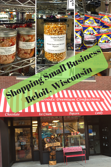 Shopping Small Businesses in Downtown Beloit, Wisconsin