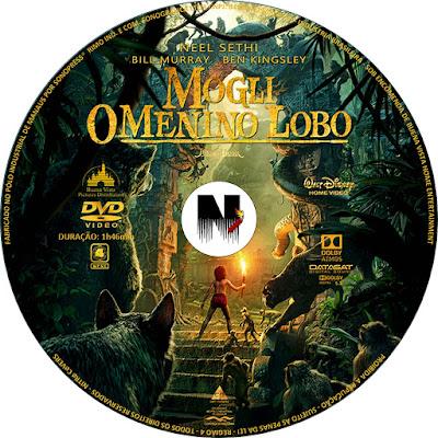 Label DVD Mogli O Menino Lobo