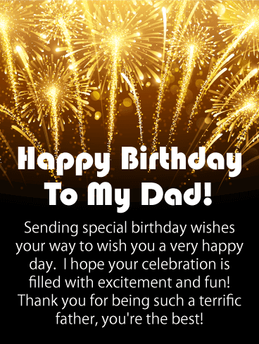 Inspirational Happy Birthday Wishes for Father