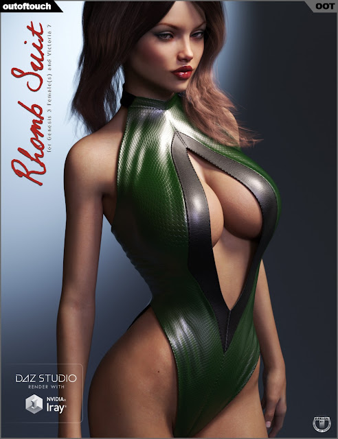 Rhomb Suit for Genesis 3 Female