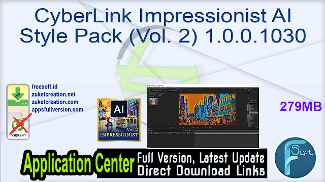 CyberLink Impressionist AI Style Pack (Vol. 2) 1.0.0.1030