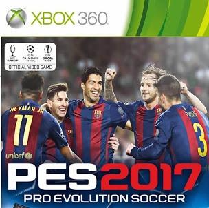 PES 2017 XBOX 360