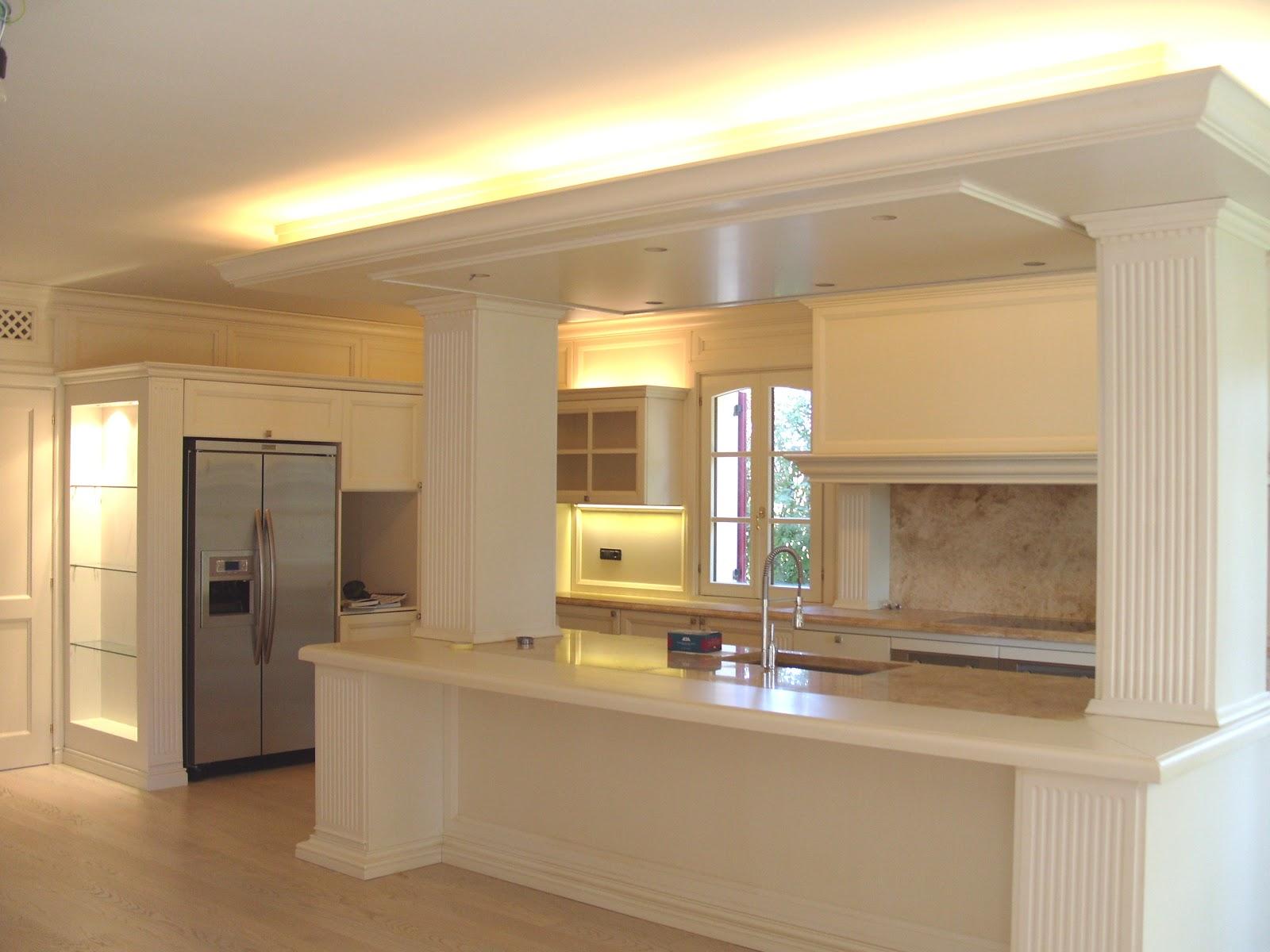 Cucine Moderne Bianche Laccate | 2 Mobilturi Vela Cucina Bianca ...