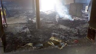 KINDIA (Religion) : Une mosquée et son contenu brulés par les inconnus