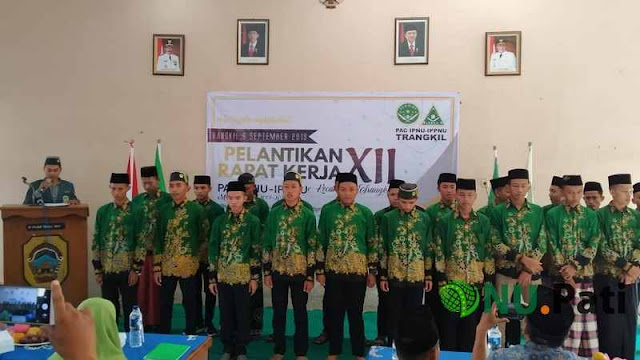 Pelantikan IPNU IPPNU Trangkil