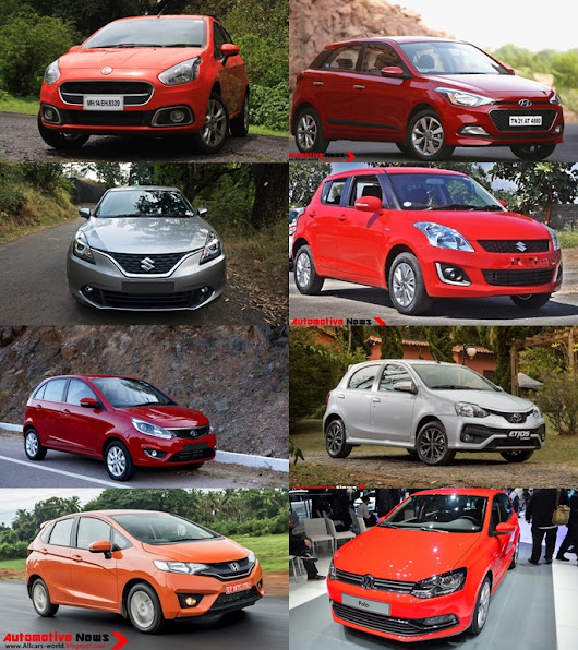 Top Hatchback Cars in India For 2016