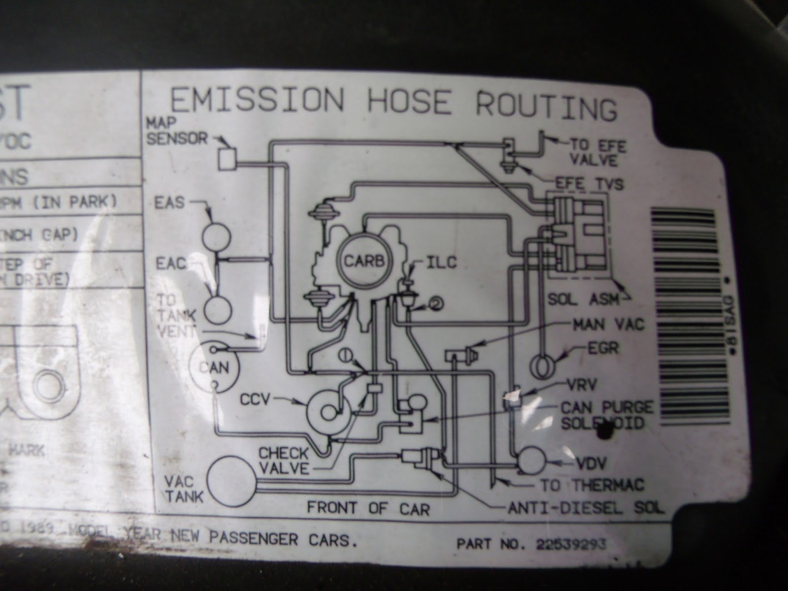 Oldsmobile 307 Wiring Diagram Library Engine 1989 Olds Ccc Vacuum Map Station Wagon Forums Img