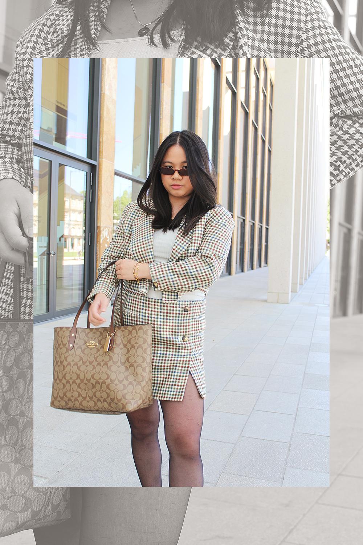 Outfit: Vintage Blazer Set DIY