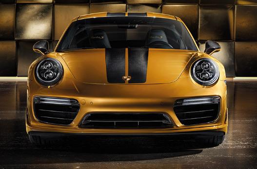 2018 Porsche 911 Turbo S Front
