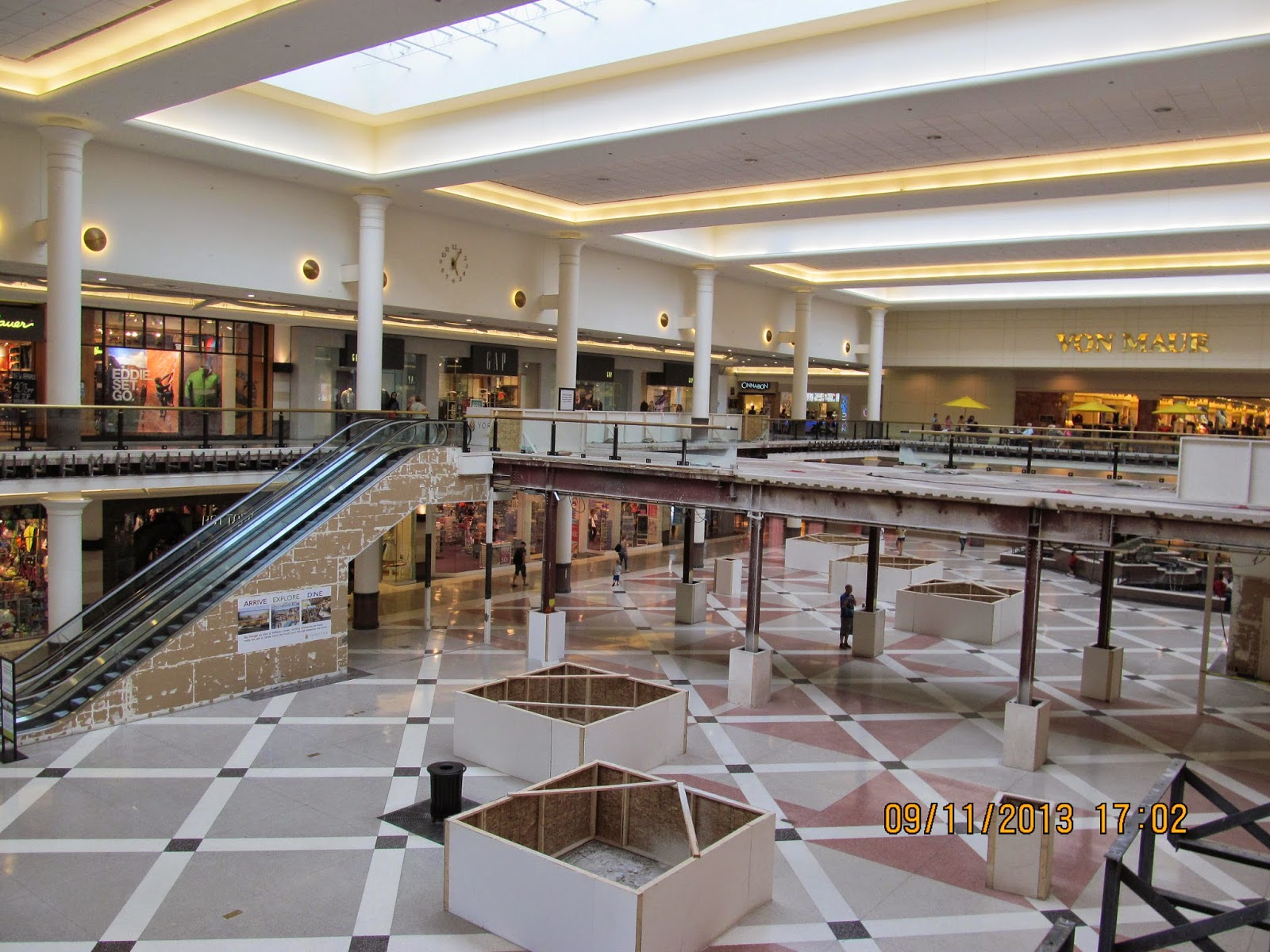 It's a nice mall with all the basics and affordable trendy stores and a few