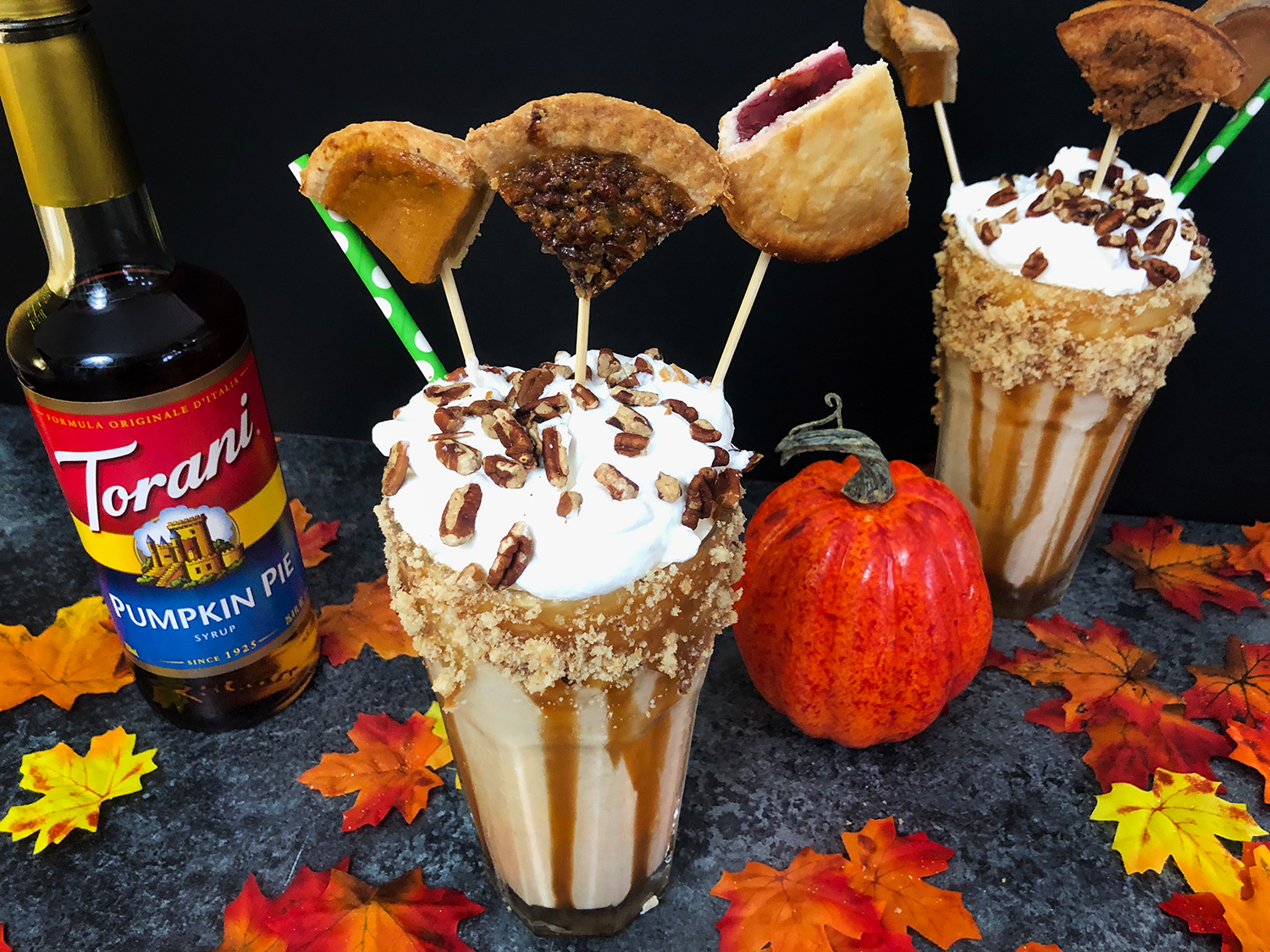 Thanksgiving Pie Freakshake