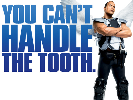 This teeth pun features Dwayne the Rock Johnson.