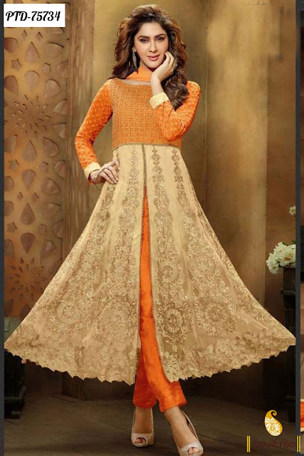 EID 2016 special anarkali salwar suits online shopping discount offer sale and deals