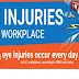 Eye Injuries in the Workplace #infographic