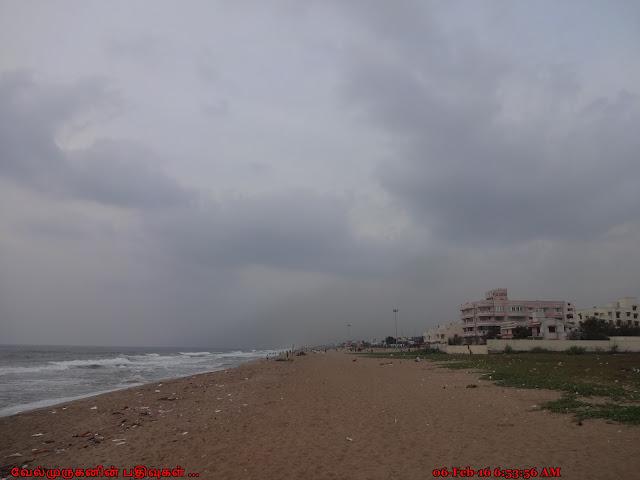 Thiruvanmiyur Beach ECR Chennai