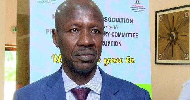 EFCC Speaks On Chairman Magu's Alleged Arrest