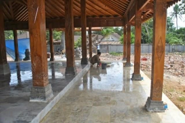 Jasa  pasang dan poles lantai dengan hasil yg maksimal