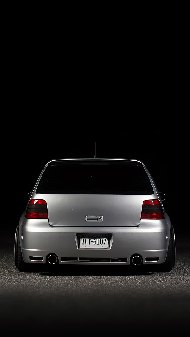 iPhone Retina Wallpapers for iPhone 5\/5C\/5S\/6\/6Plus: VW Golf MK4