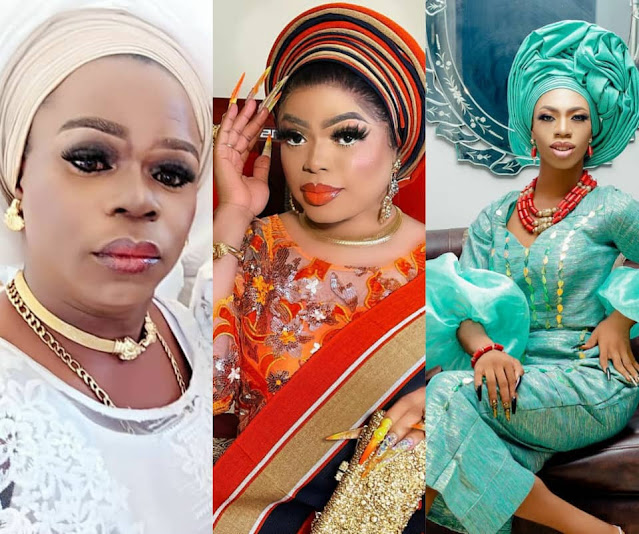 I am warning you desist from threatening James Brown with arrest- Cross Dresser Michelle page Issues a warning to Bobrisky (Video)