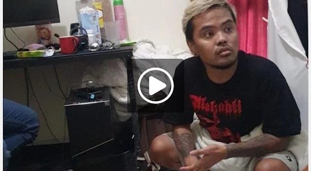 Penampakan Coki Pardede Jongkok Usai Ditangkap Polisi