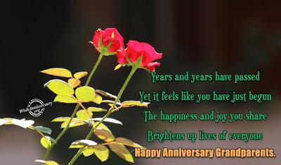anniversary wishes for dada dadi in Hindi