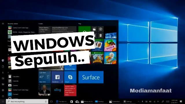 Fitur Unik Windows 10 Yang Wajib Anda Ketahui