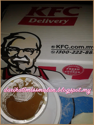 KFC DELIVERY, KFC, Kentucky Fried Chicken, Perisa Original, Spicy, Whipped, Colonel Chicken Rice,