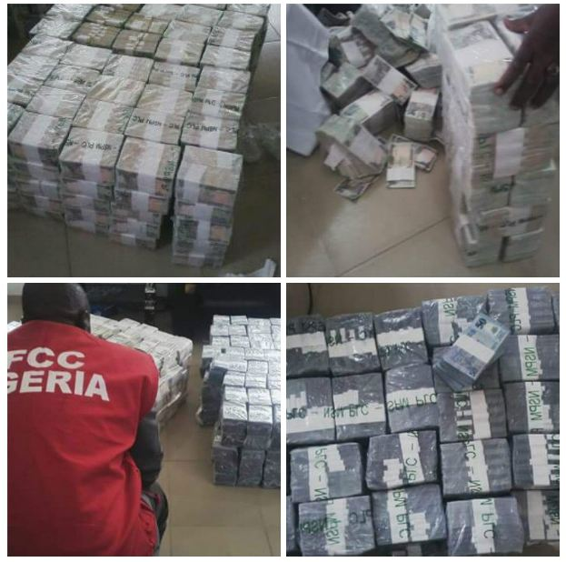 EFCC Uncovers Another Massive Stash Of Monies In Lagos Apartment
