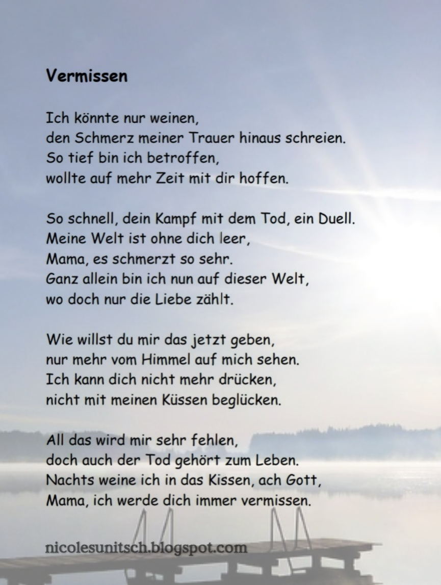 Liebesgedicht Sohn Versbildner 2020 02 06