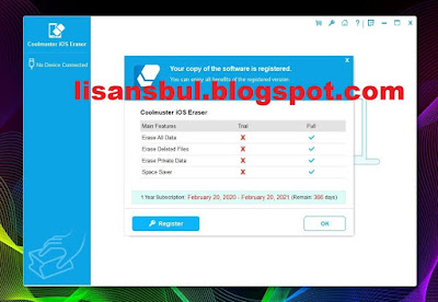 Coolmuster iOS Eraser 2.0.45 Full Version Giveaway Key. E-mail: lisansbul.blogspot.com@adramail.com Here is your license code: 920059F1508250D052D0a27220987A50AD301B59F96892CDA17FE763 License email: coolmuster@giveawayoftheday.com License code: 7300DC2E9282A0D081B012b22D3886d90C50B768160B3418377CDDFB Email: lisansbul.blogspot.com@cmailing.com Coolmuster iOS Eraser License: F200A901C08260C022B0d28220E8BA90AD301B59FF699CC8A07FE468 E-mail: lisansbul.blogspot.com@email.com iOS Eraser License code: 420069912092E0B08280b28220E8AAe0AD301B59FA6E98C1AE7CEF67 Email: lisansbul.blogspot.com@email1.com License Code: D20089518072A02012B0429220983A40AD301B59F6669FCEA27DEE6F Email: lisansbul.blogspot@email.com License Key: 3200A961608270D042C0829220481Ac0AD301B59F3619BCEA87AE969 Email: lisansbul.blogspot@email2.com Activation Code: 12003961C0924030F260129220F8DAf0AD301B59FC689CC8A07AEF63