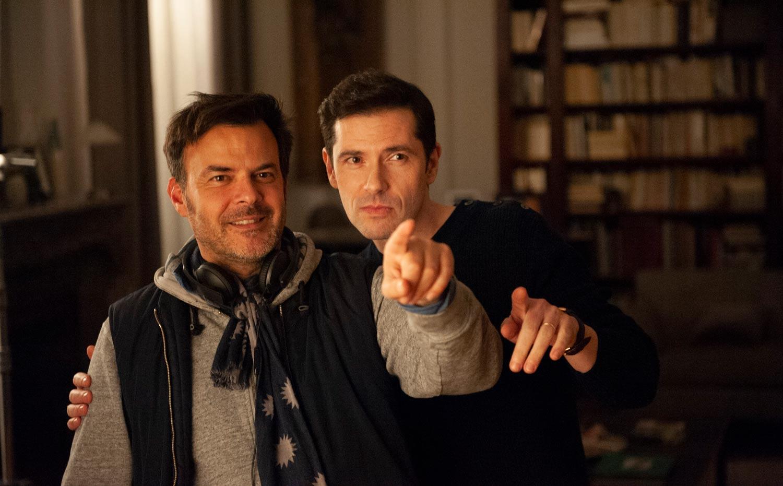 François Ozon y Melvil Poupaud