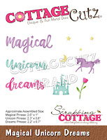 http://www.scrappingcottage.com/cottagecutzmagicalunicorndreams.aspx