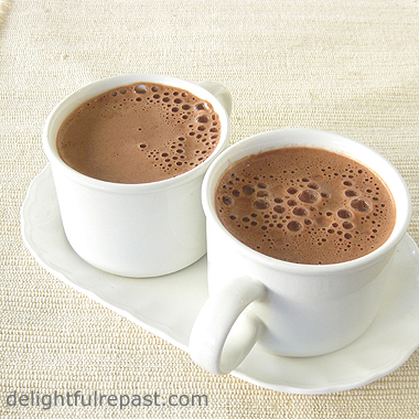 The Ultimate Dairy-Free Hot Chocolate / www.delightfulrepast.com