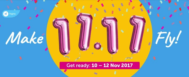Traveloka Bakal Mengadakan Flight Campaign - Make 11.11 Fly!