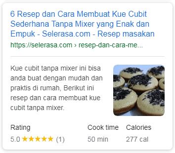 rich snippet recipe - rank math