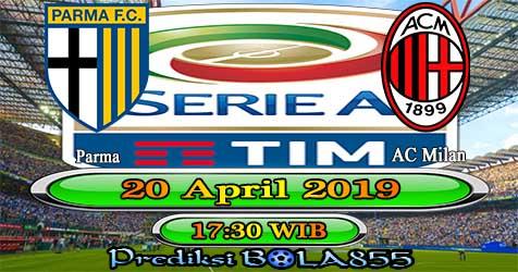 Prediksi Bola855 Parma vs AC Milan 20 April 2019