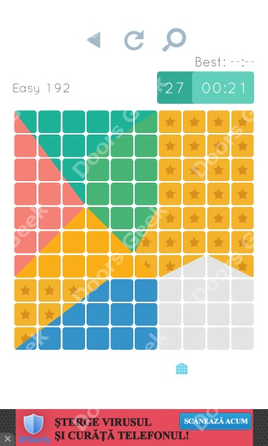 Cheats, Walkthrough for Blocks and Shapes Level 192