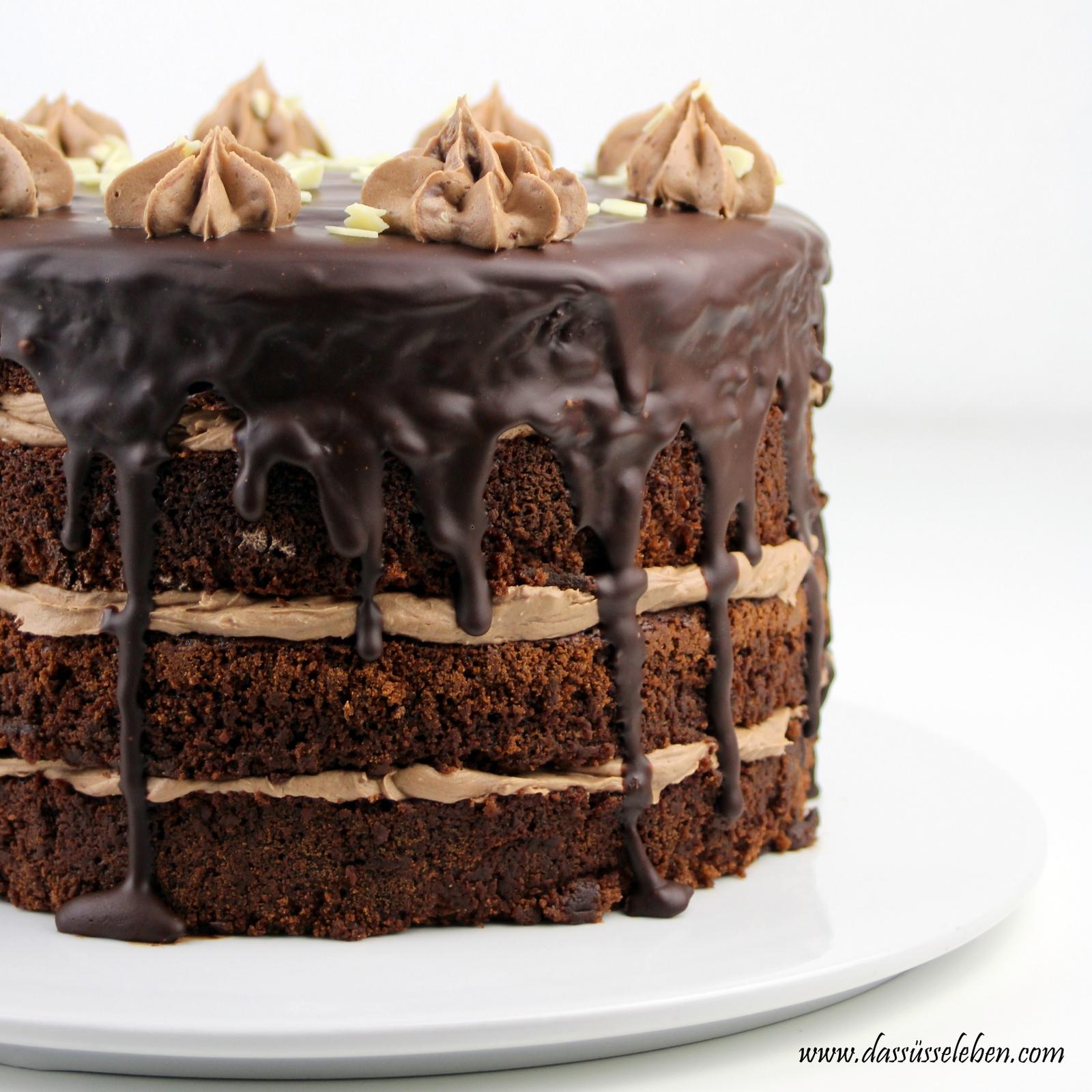 Rezept Schokoladentorte Mit Nutella Creme Das Susse Leben