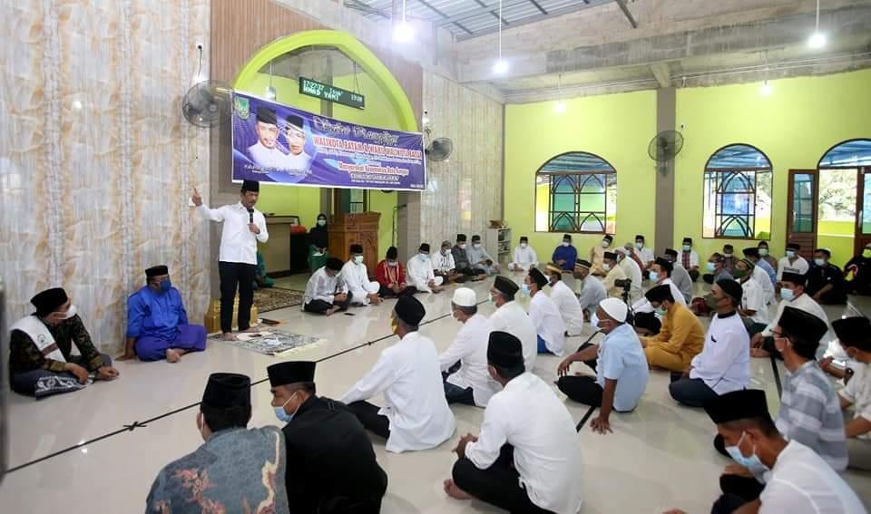 Safari Ramadhan di Batu Ampar, Rudi Tuntaskan Persoalan Warga dan Meminta Selalu Terapkan Prokes