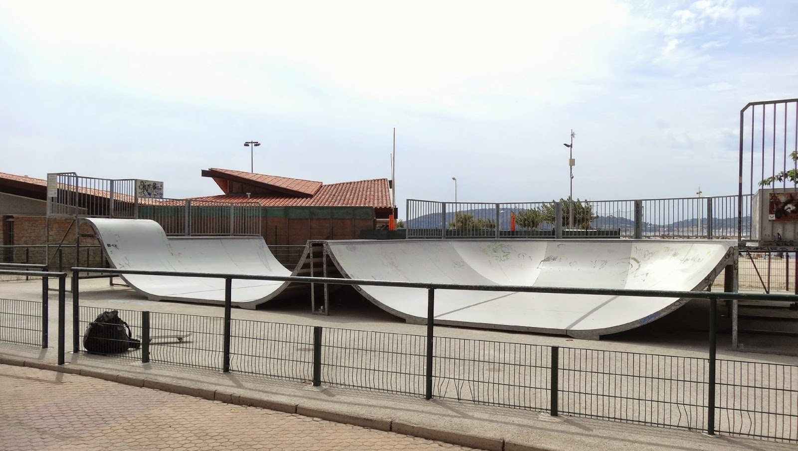 skatepark Toulon Plage