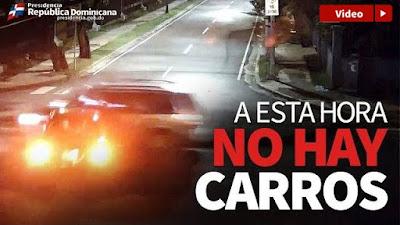 Vídeo: A esta hora no hay carros.