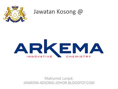 Jawatan Kosong Di Arkema Coating Resins Malaysia Sdn Bhd