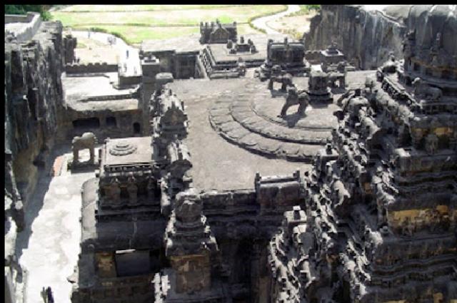 ellora caves, kailash temple