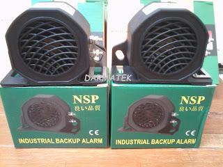 Darmatek Jual Buzzer NSP Back Up Alarm 12V - 48V