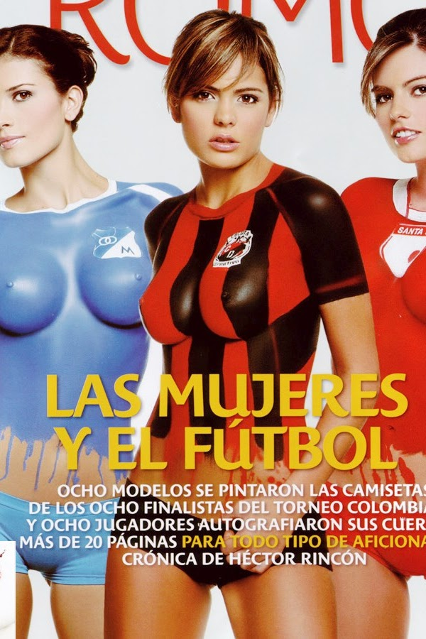 Vaneza Pelaez Body Painting Para La Revista Cromos