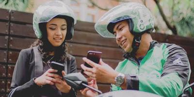 Cara Driver Ojek Online Dapat Uang tip Pelanggan